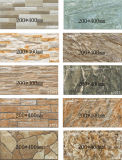 Decoration (200X400mm)를 위한 시골풍 Stone Exterior Ceramic Wall Tile