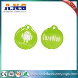La aduana impermeable de epoxy cristalina NFC marca el androide de la etiqueta engomada con etiqueta