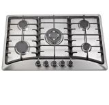 5 die de Haardplaat van het Kooktoestel van het Gas van de brander, in de Haardplaat van het Gas wordt gebouwd