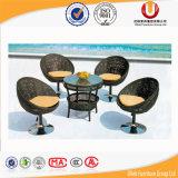 El SGS del jardín certificó el vector de cena de la rota y las sillas (UL-B2035)