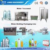 Machine recouvrante remplissante de lavage de bouteille d'eau