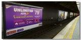 Bâche de protection enduite de PVC de bonne qualité pour le panneau de publicité