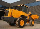 China 3 cargador usado Sdlg de la rueda de la maquinaria de construcción de la tonelada XCMG