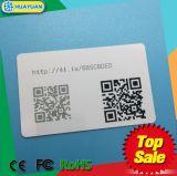 Scheda dei businss di NTAG203 NTAG213 NFC con il codice di QR per la gestione di lealtà