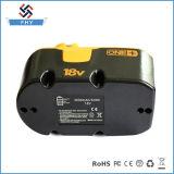 Bateria da ferramenta de potência de Ryobi Ni-MH 18V 3.0ah