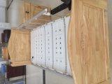 Cama de hospital Double-Function eléctrica con la pista de madera de la base