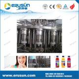 Máquina de enchimento quente de 3 in-1pet frascos do sumo de laranja