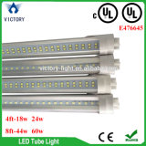베스트셀러 SMD2835 AC100-277V G13 2 Pin 4FT 18W 24W 8FT 44W 60W UL LED T8 관 빛