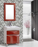 PVC moderno Bathroom Furniture di Floor Standing con Mirror