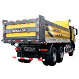 340HP 6X4 LHD Genlyon Iveco Dumper con C100 Cabin