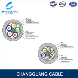 Faisceau de fibre optique blindé échoué extérieur du câble 2-144 de l'approvisionnement GYTA/S d'usine