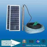 HOME solar principal elevada que levanta as bombas de água submergíveis