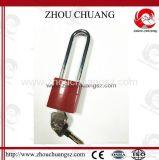 熱い販売の長い手錠の鋳造アルミの安全パッドロック