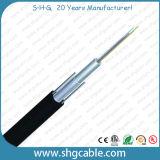 2-12 cabo ao ar livre da fibra óptica de Unitube das fibras (GYXTY)