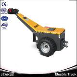 1500kg tipo de passeio tratores elétricos do reboque da bagagem