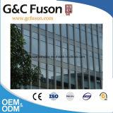Pared de cortina de aluminio de aluminio fuerte del vidrio laminado de la venta caliente barata de la fábrica