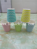 多彩な8oz Double Wall Paper Cup Embossing (YH-L170)
