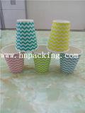 Double graver coloré de tasse de papier du mur 8oz (YH-L170)