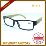 Vidros de leitura novos com braços de Banboo, Ce&FDA (R1414)