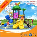 Cour de jeu en plastique extérieure de garde de centre de jeu de gosses pour l'école