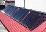 Capteur solaire évacué de cuivre de tube de caloduc