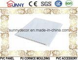 Modèle de marbre de plafond de PVC de panneau de matériaux de construction, panneau décoratif de PVC