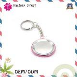 Металл Keychain изготовленный на заказ фабрики Handware выдвиженческий, ключевое кольцо