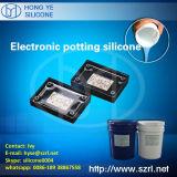 Borracha de silicone da cura da lata para o Potting eletrônico