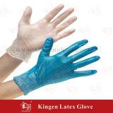 Gants bon marché de vinyle de gants rouges remplaçables de vinyle de gants remplaçables de vinyle