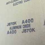 Trapo abrasivo calcinado J870k 400# del óxido de aluminio