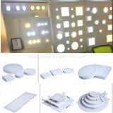 O painel de superfície da cozinha da iluminação de teto do diodo emissor de luz ilumina para baixo os painéis quadrados internos de Non-Dimmable 6W da lâmpada