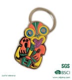 Trousseau de clés de véhicule en métal de logo de propriétaire sur la vente chaude