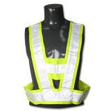 Vest van de Verkeersveiligheid van het Zicht van de Stroken van Ce En471 het Weerspiegelende Hoge (YKY2820)