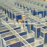 Meubles en verre modernes de Workstion de compartiments de centre d'appels