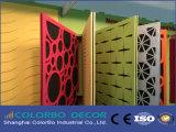 Декоративная высоконапорная Laminate панель волокна полиэфира акустическая