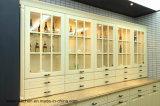 ヨーロッパの様式開いた様式の食器棚