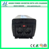 Beweglicher Auto-Energien-Inverter UPS-4000W mit Aufladeeinheit (QW-M4000UPS)