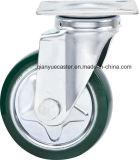 Roulette fixe de qualité de 6 pouces avec la roue en caoutchouc de roulette de noyau en acier, modèle de Janpanese