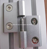 Zinco-Alloy staccabile Hinges per 30/40 di Series Aluminum Profile