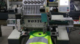 Singola macchina capa del ricamo di alta qualità con il ricamo piano della maglietta della protezione di 3 funzioni