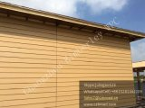 Gemakkelijk installeer Decking de anti-Uv Hoge Uitvoerbare Bekleding van de Muur van de Plank WPC Samengestelde