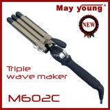 M602c Spitzenverkäufetourmaline-Beschichtung LCD-Bildschirmanzeige-Haar-Lockenwickler
