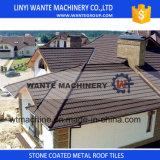 Mattonelle di tetto della lamiera sottile, mattonelle di tetto rivestite del metallo della pietra dei materiali da costruzione