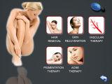 La potencia grande de destello del laser opta el equipo de la belleza del retiro del pelo (OPT2000)