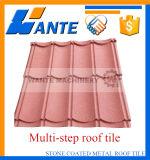 Mattonelle di tetto rivestite del metallo della pietra di terracotta con installazione facile
