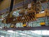 Tirante magnético para a placa de aço