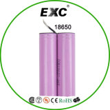 リチウムIon Battery Cell 18650 Rechargeable 3.7V 2000mAh