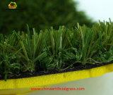 Nicht-Infilling-Fußball-künstlicher Gras-Rasen mit SGS-Bescheinigung