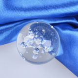 Home Decorationのための泡Crystal Glass Ball