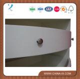 Bureau en bois à caisse ronde avec tiroirs